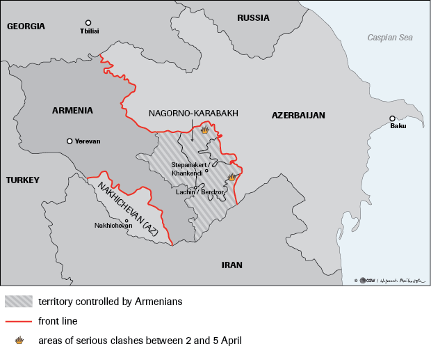 The Four Day War In Nagorno Karabakh