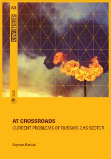At crossroads. Current problems of Russia's gas sector