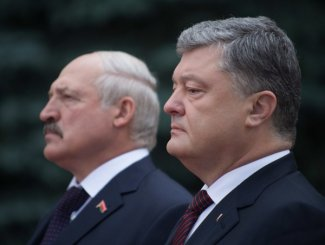 Meeting of Poroshenko and Lukashenko