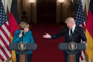 Merkel in Washington: a cool reception