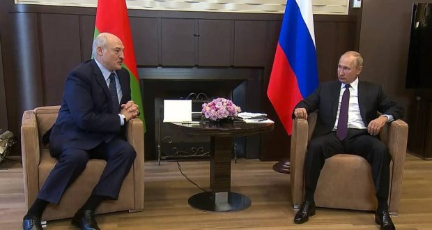 Putin and Lukashenka met in Sochi: no settlement has been reached